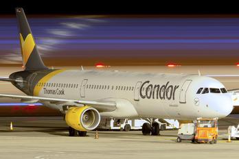 D-ATCE - Condor Airbus A321