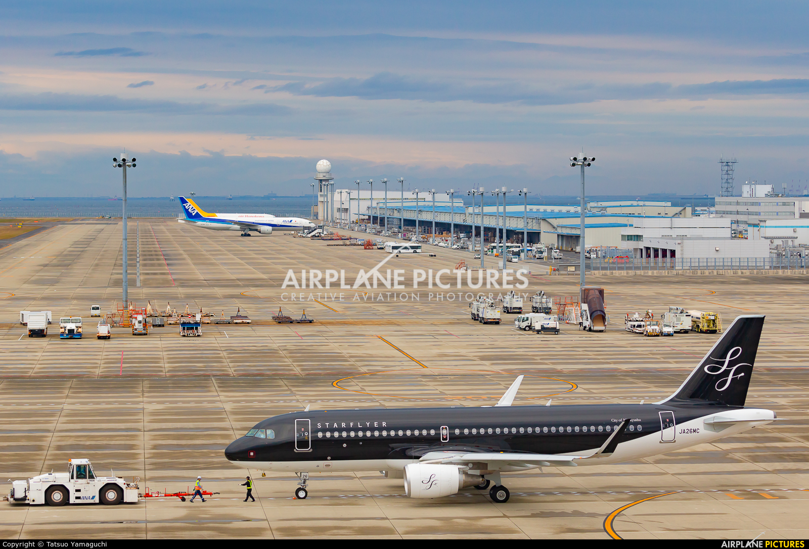 Starflyer JA26MC aircraft at Chubu Centrair Intl