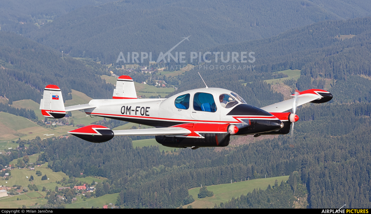 Private OM-FOE aircraft at In Flight - Slovakia