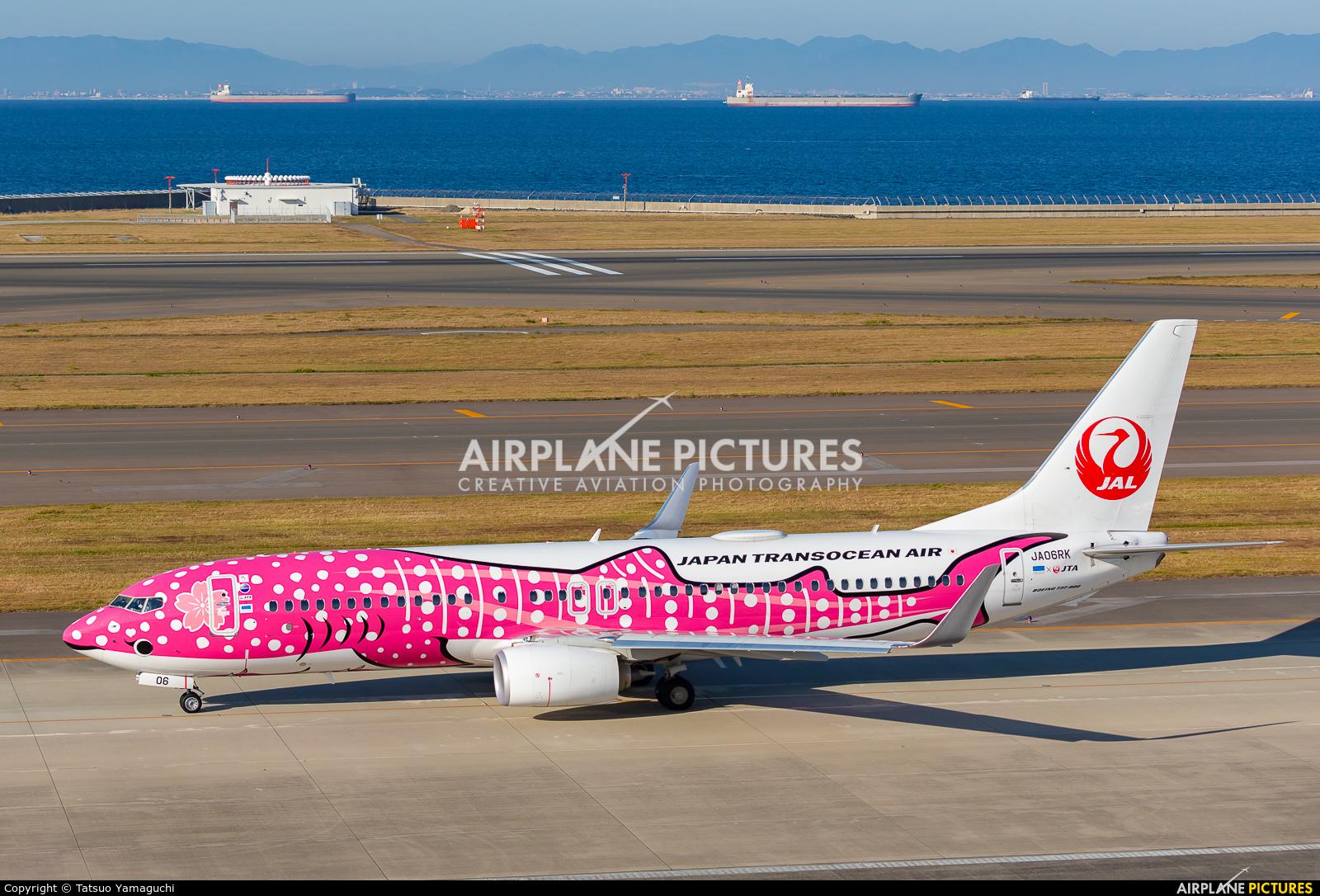 JAL - Japan Transocean Air JA06RK aircraft at Chubu Centrair Intl
