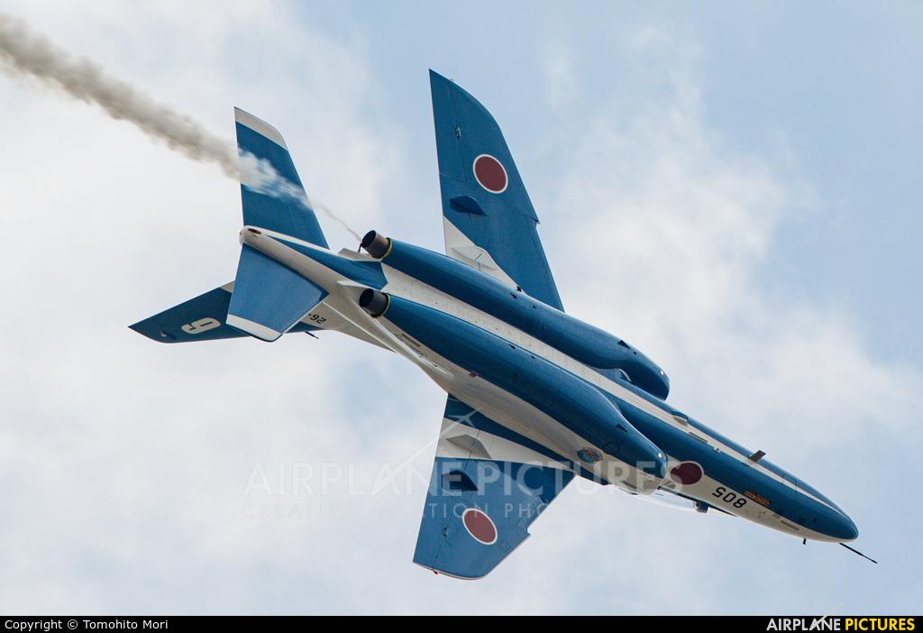 Japan - ASDF: Blue Impulse 26-5805 aircraft at Matsushima AB
