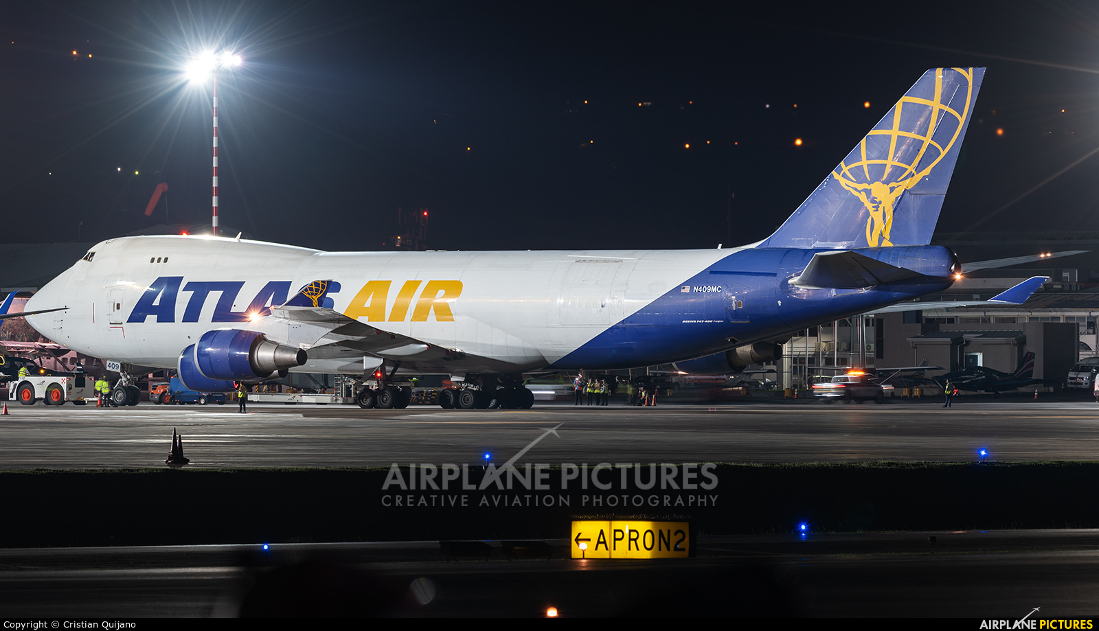 Atlas Air N409MC aircraft at San Jose - Juan Santamaría Intl