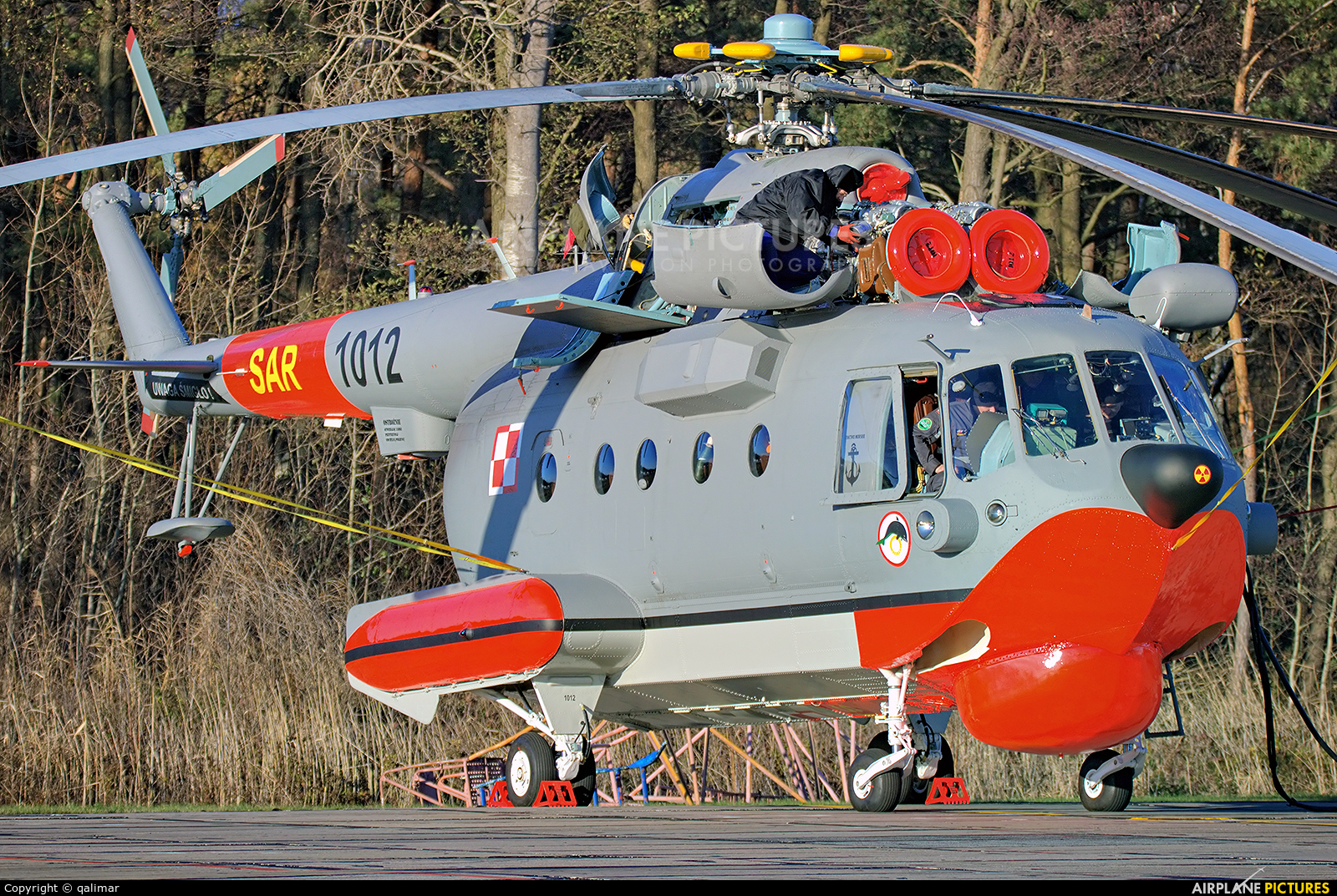 Poland - Navy 1012 aircraft at Darłowo
