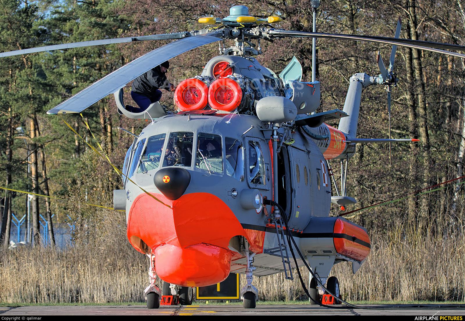 Poland - Navy 1012 aircraft at Darłowo