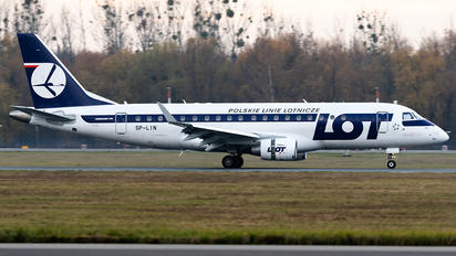 SP-LIN - LOT - Polish Airlines Embraer ERJ-175 (170-200)