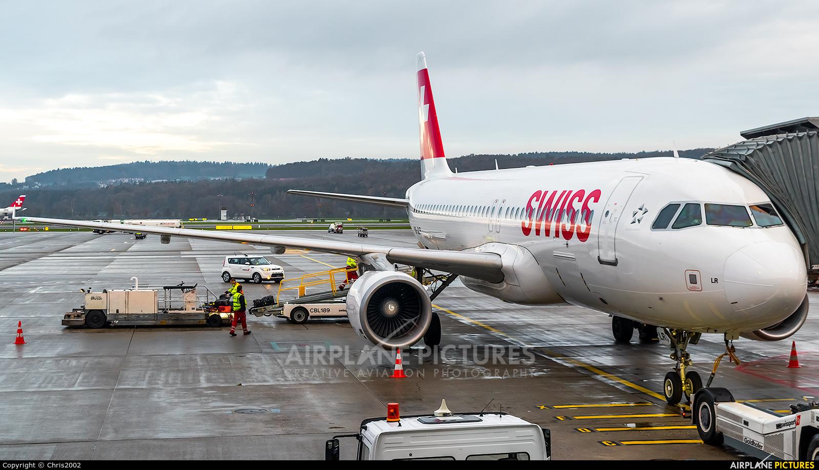 Swiss HB-JLR aircraft at Zurich