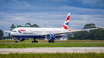 G-STBK - British Airways Boeing 777-300ER aircraft