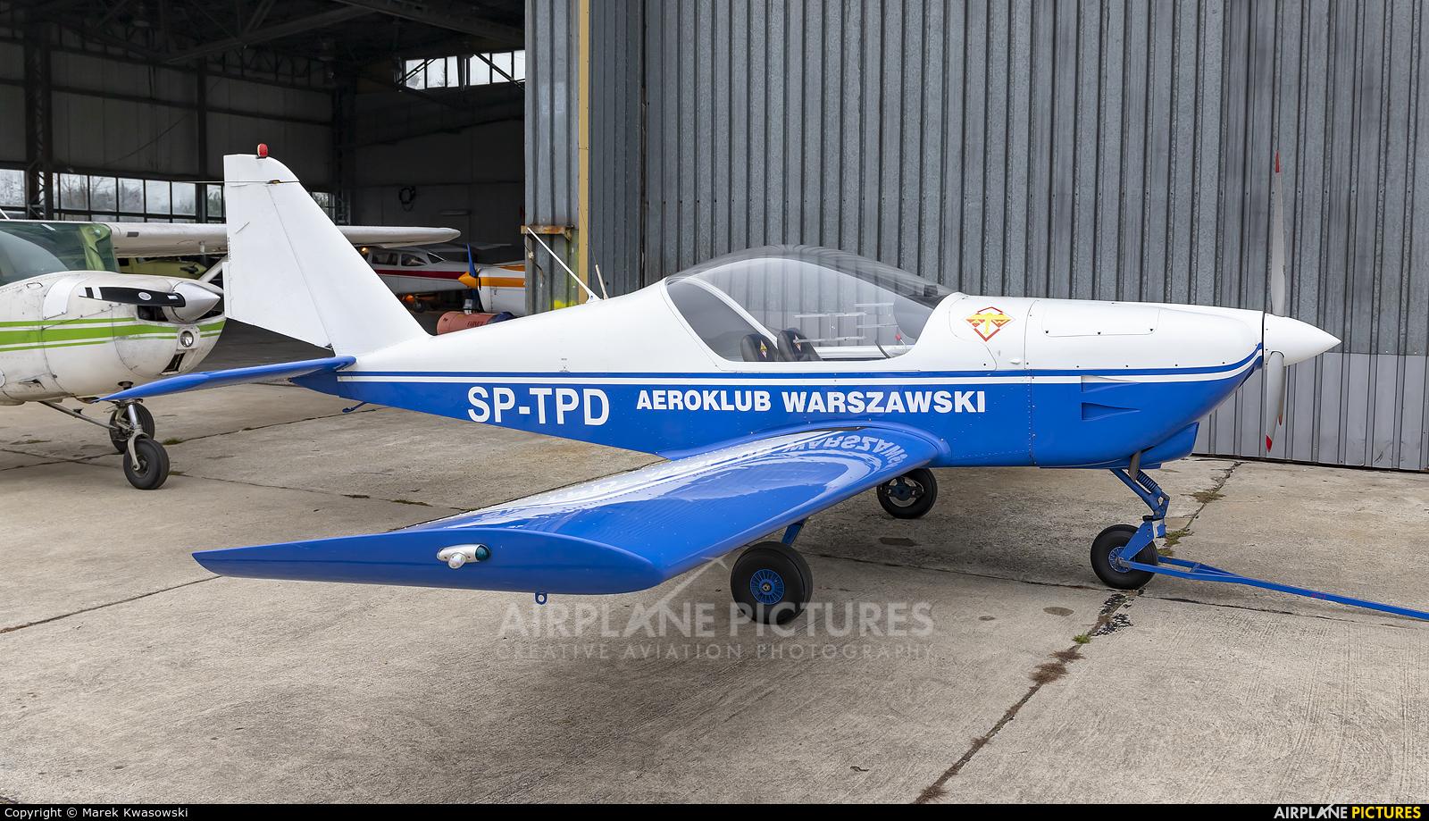 Aeroklub Warszawski SP-TPD aircraft at Warsaw - Babice