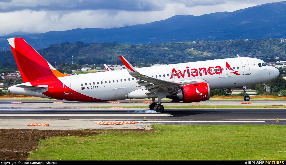 Avianca N776AV aircraft at San Jose - Juan Santamaría Intl