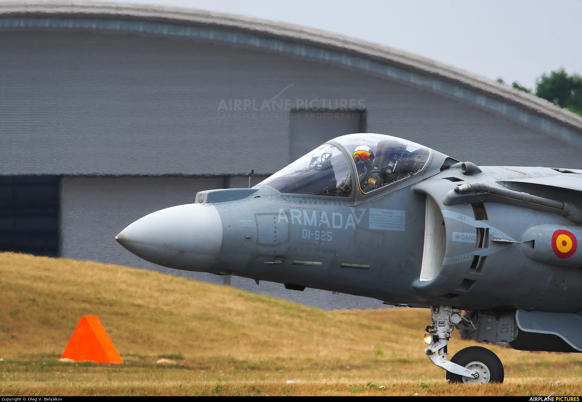 Spain - Navy VA.1B-37 aircraft at Farnborough