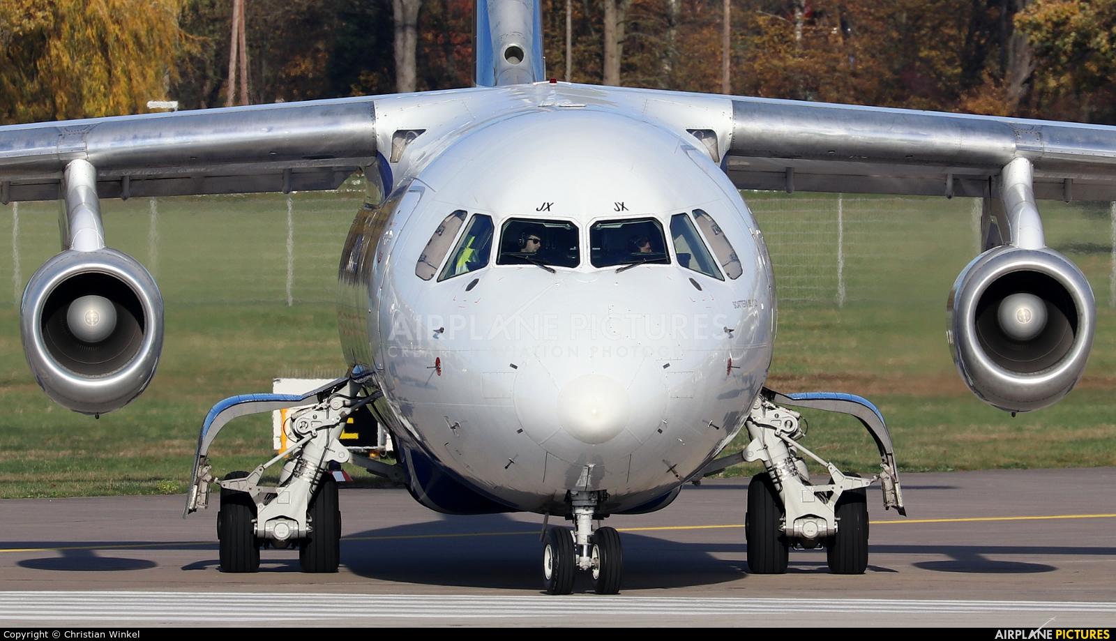 CityJet EI-RJX aircraft at Hannover - Langenhagen