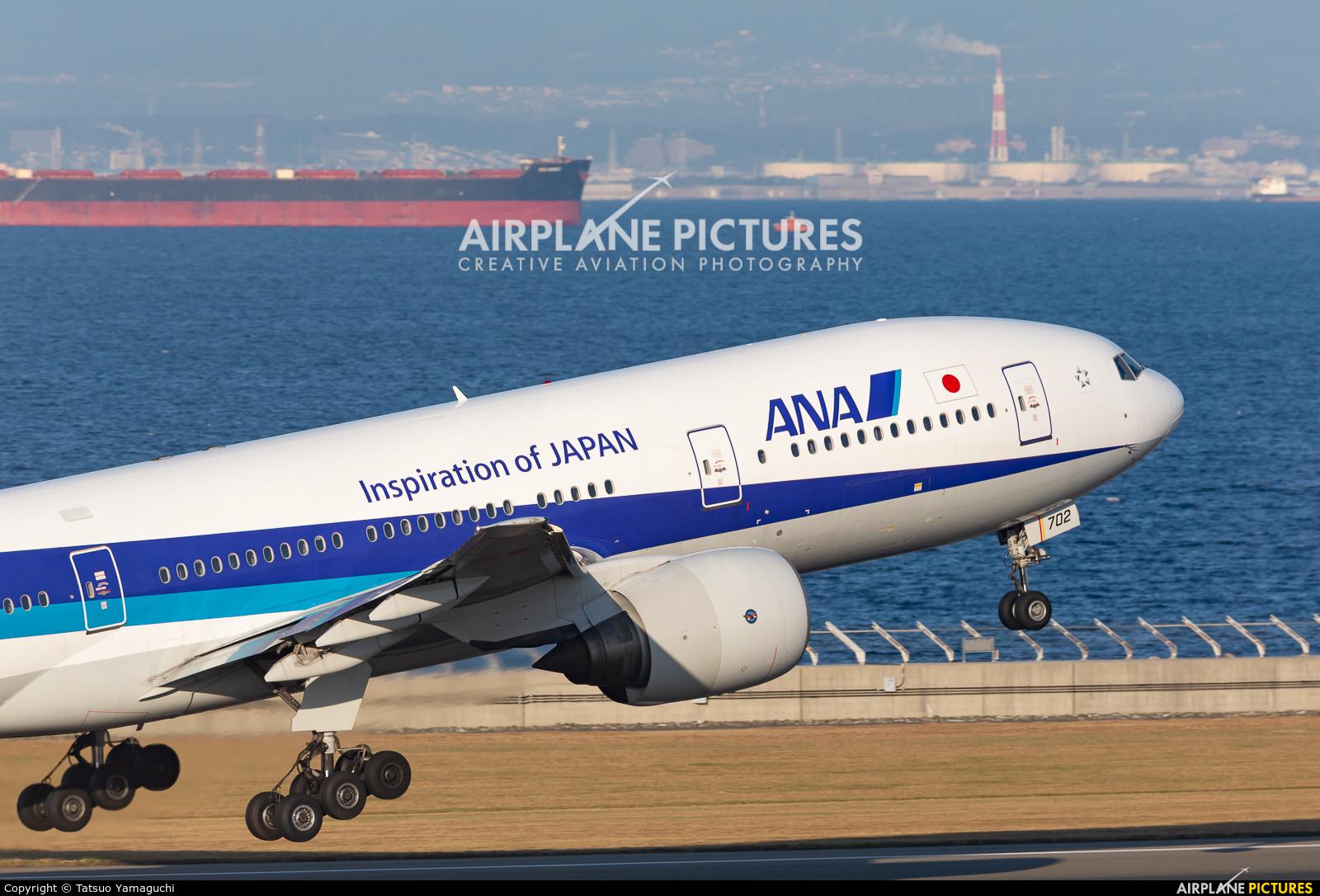 ANA - All Nippon Airways JA702A aircraft at Chubu Centrair Intl