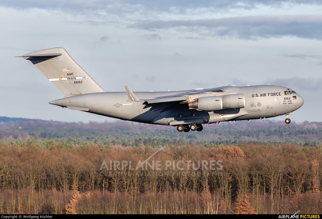 USA - Air Force 06-6162 aircraft at Cologne Bonn - Konrad Adenauer