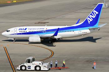 JA04AN - ANA - All Nippon Airways Boeing 737-700