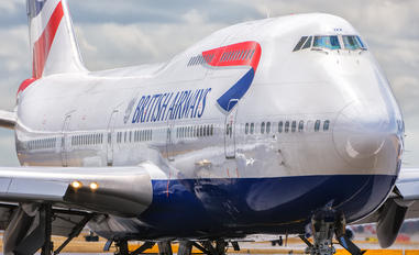 G-CIVX - British Airways Boeing 747-400