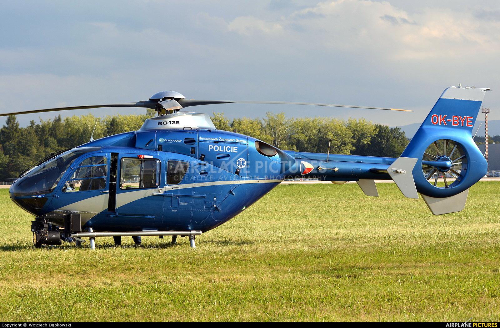 Czech Republic - Police OK-BYE aircraft at Ostrava Mošnov