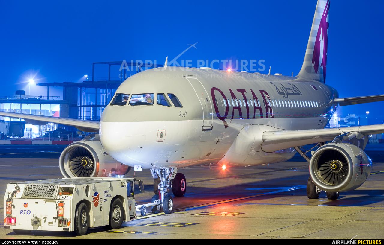 Qatar Amiri Flight A7-HHJ aircraft at Paris - Charles de Gaulle