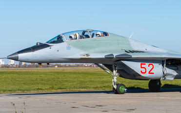 52 - Russia - Air Force Mikoyan-Gurevich MiG-29UB