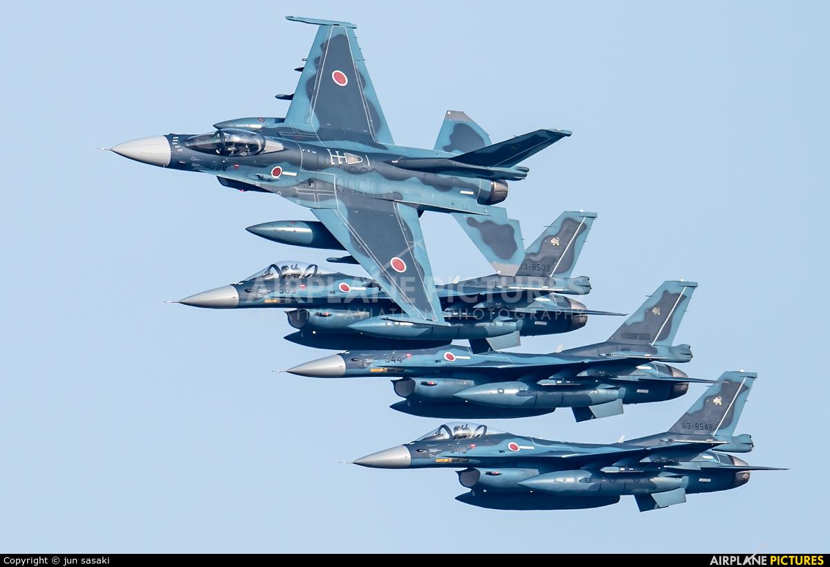 Japan - Air Self Defence Force 03-8504 aircraft at Tsuiki AB