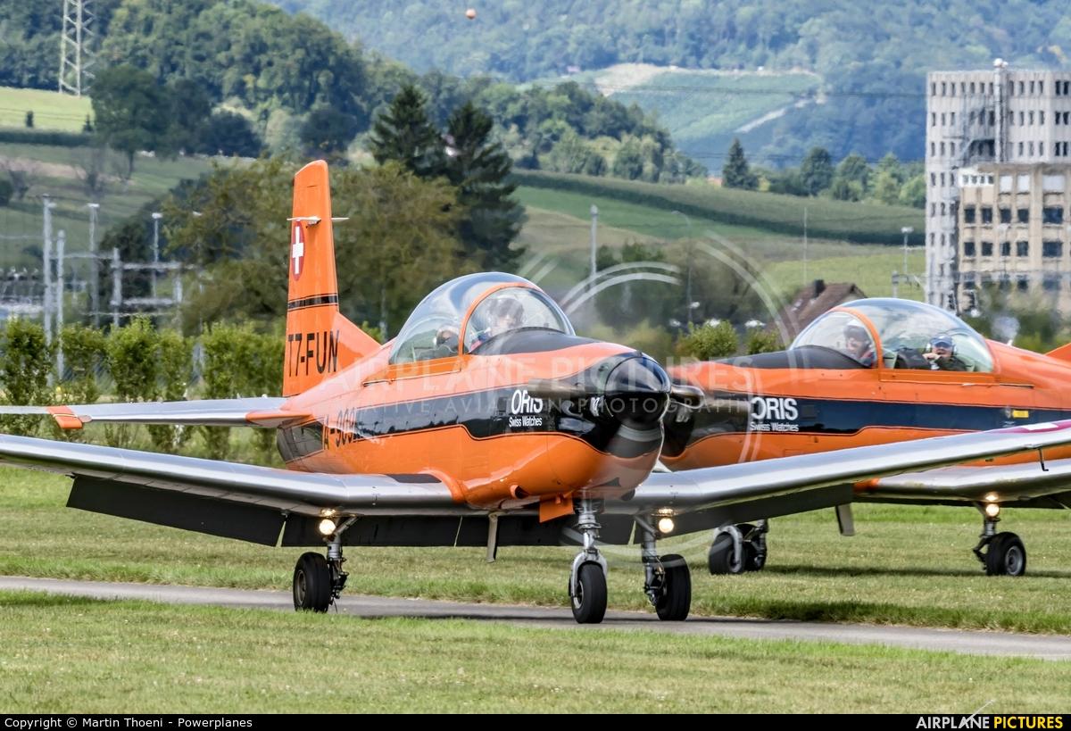 Fliegermuseum Altenrhein T7-FUN aircraft at Birrfeld