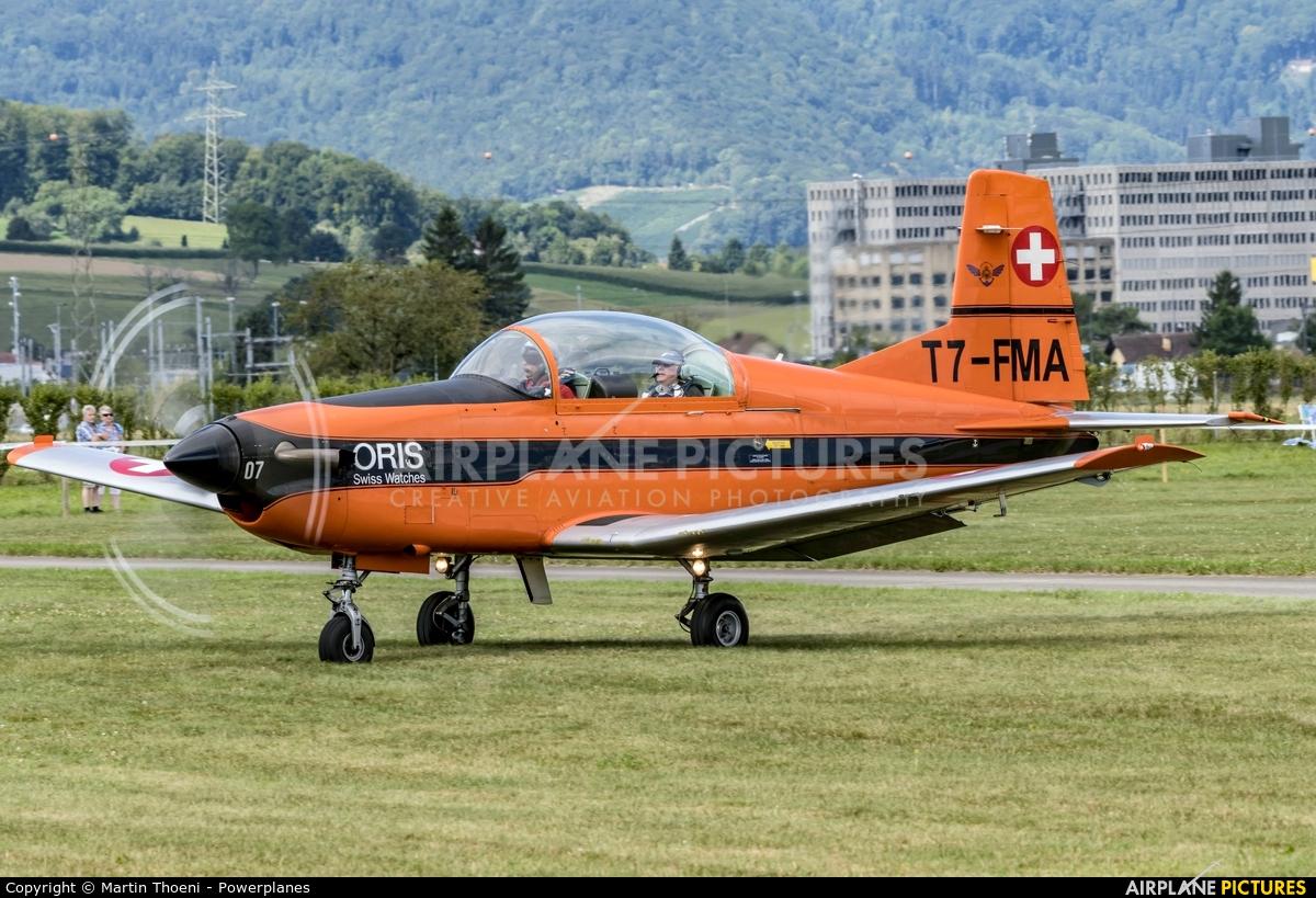 Fliegermuseum Altenrhein T7-FMA aircraft at Birrfeld
