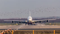A6-EOO - Emirates Airlines Airbus A380 aircraft