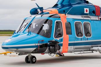 JA139M - Japan - Police Agusta Westland AW139