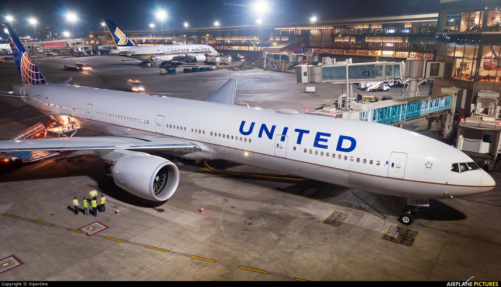 United Airlines N2333U aircraft at Mumbai - Chhatrapati Shivaji Intl