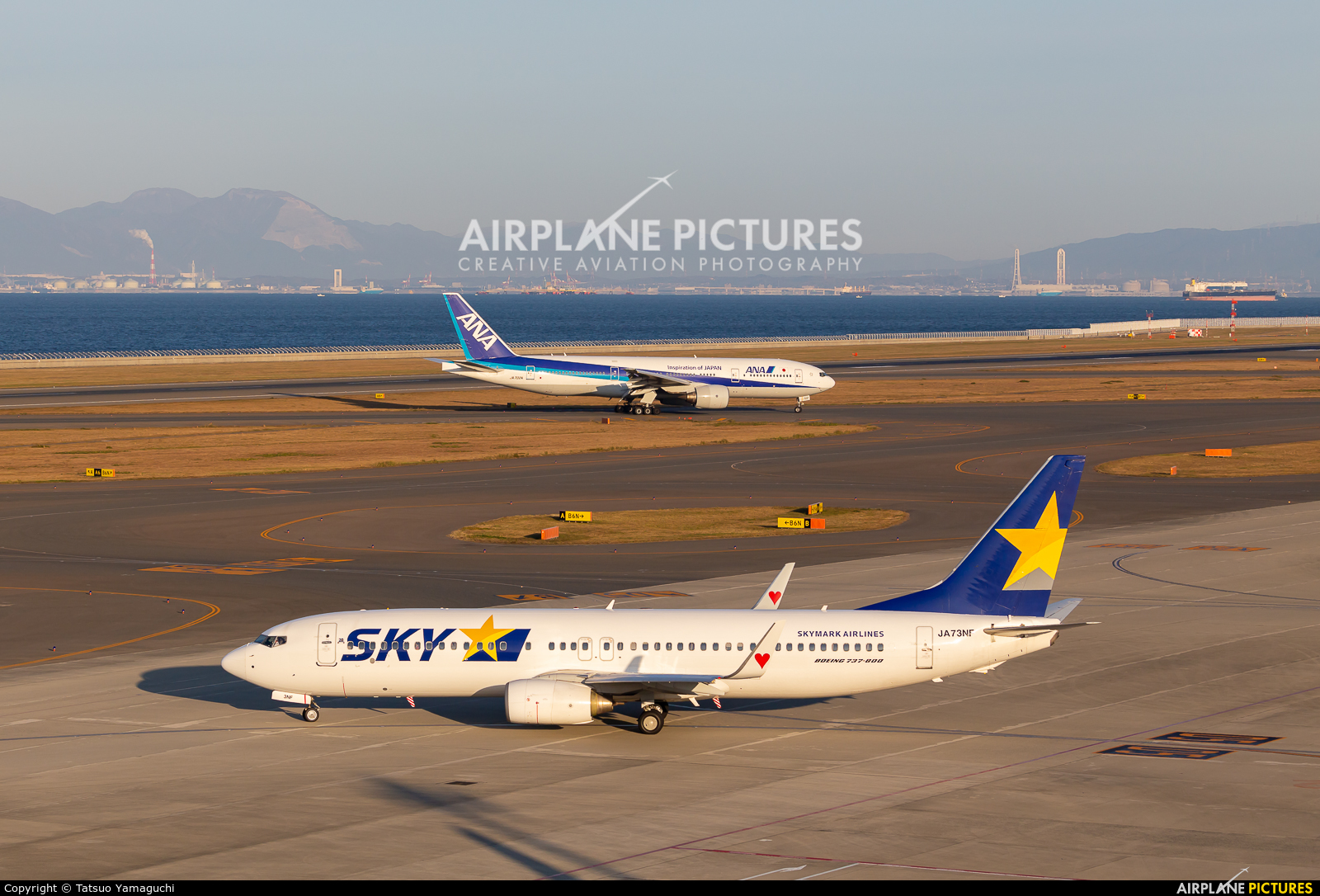 Skymark Airlines JA73NF aircraft at Chubu Centrair Intl