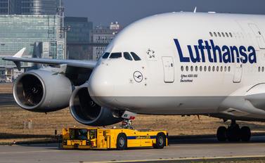 D-AIMN - Lufthansa Airbus A380