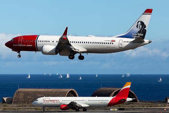 LN-BKA - Norwegian Air Shuttle Boeing 737-8 MAX