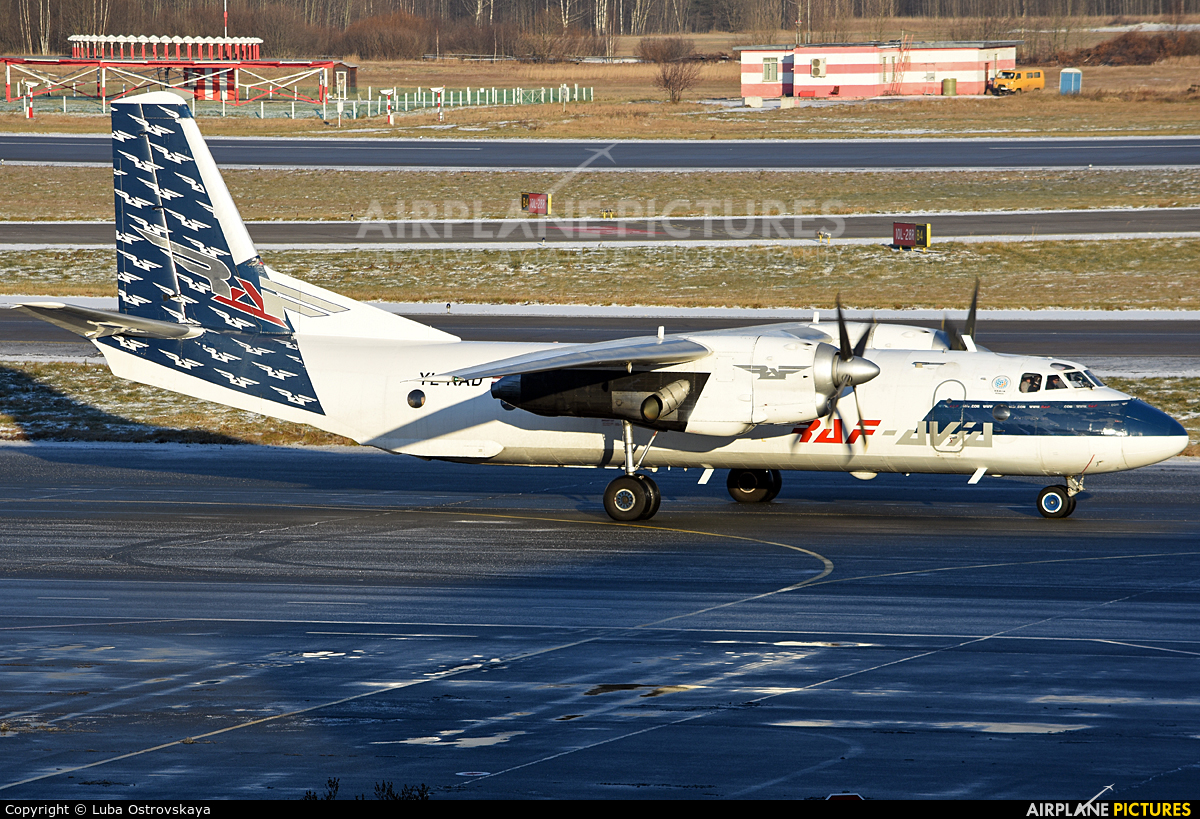 RAF Avia YL-RAD aircraft at St. Petersburg - Pulkovo