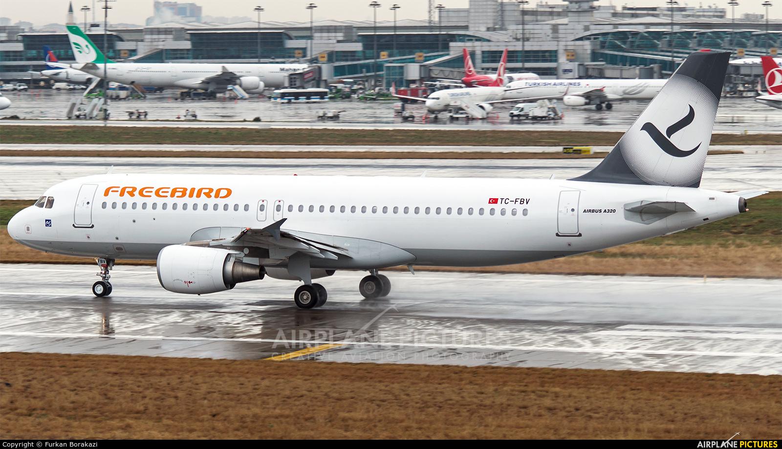 FreeBird Airlines TC-FBV aircraft at Istanbul - Ataturk