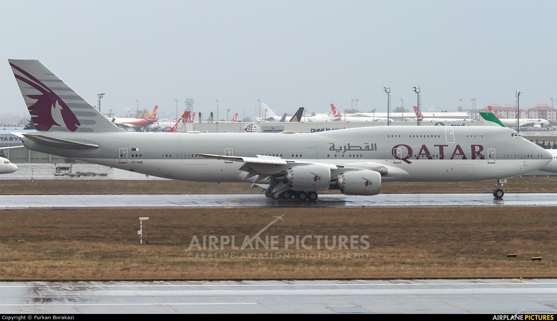 Qatar Amiri Flight A7-HHE aircraft at Istanbul - Ataturk