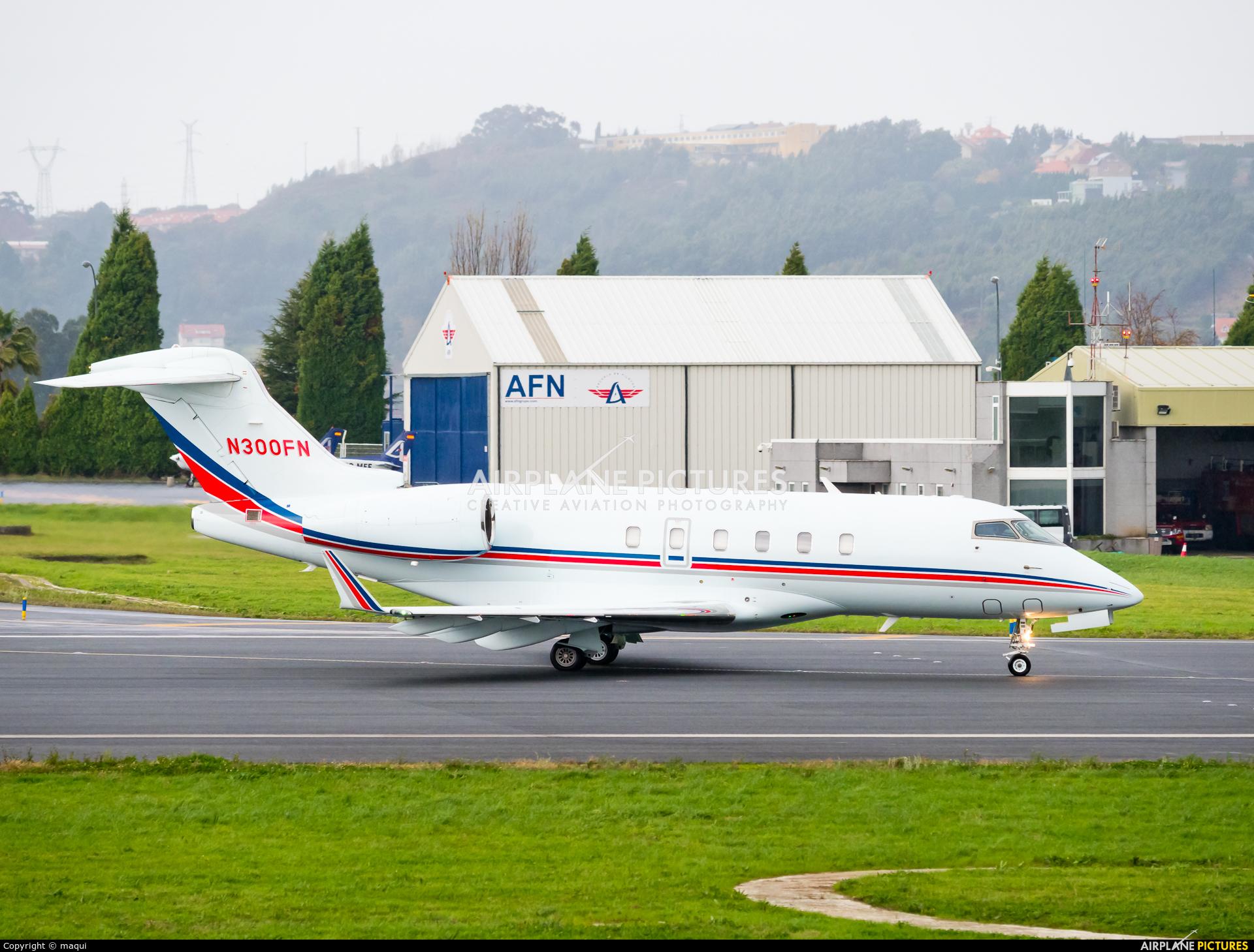 Private N300FN aircraft at La Coruña