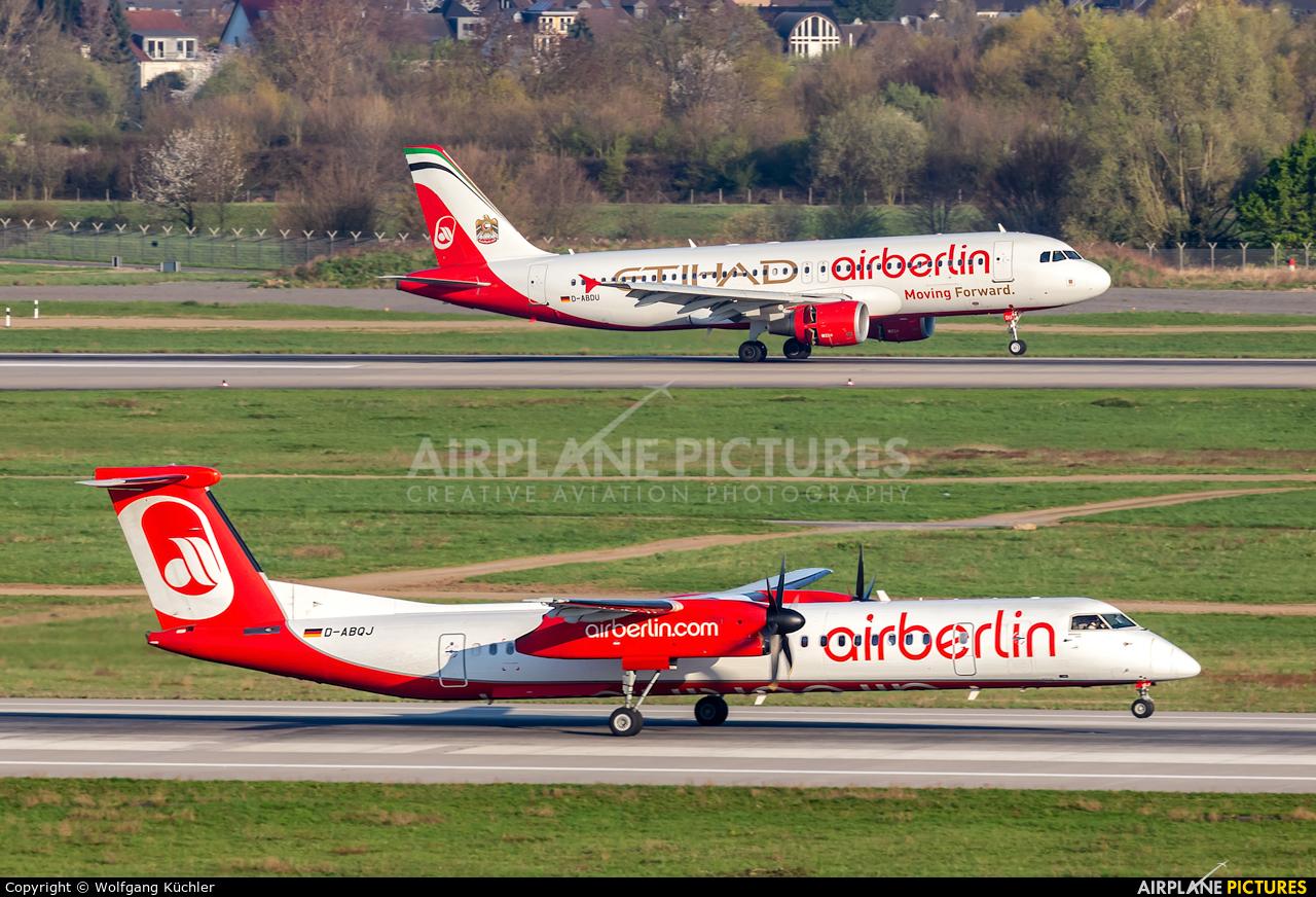 Air Berlin D-ABDU aircraft at Düsseldorf