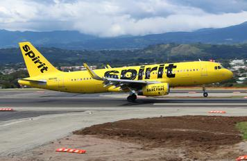 N650NK - Spirit Airlines Airbus A320