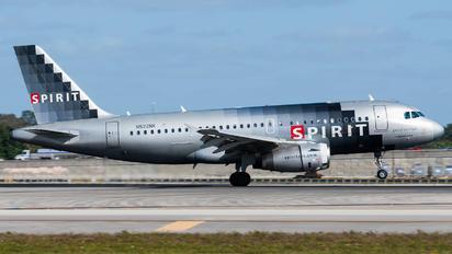 N522NK - Spirit Airlines Airbus A319
