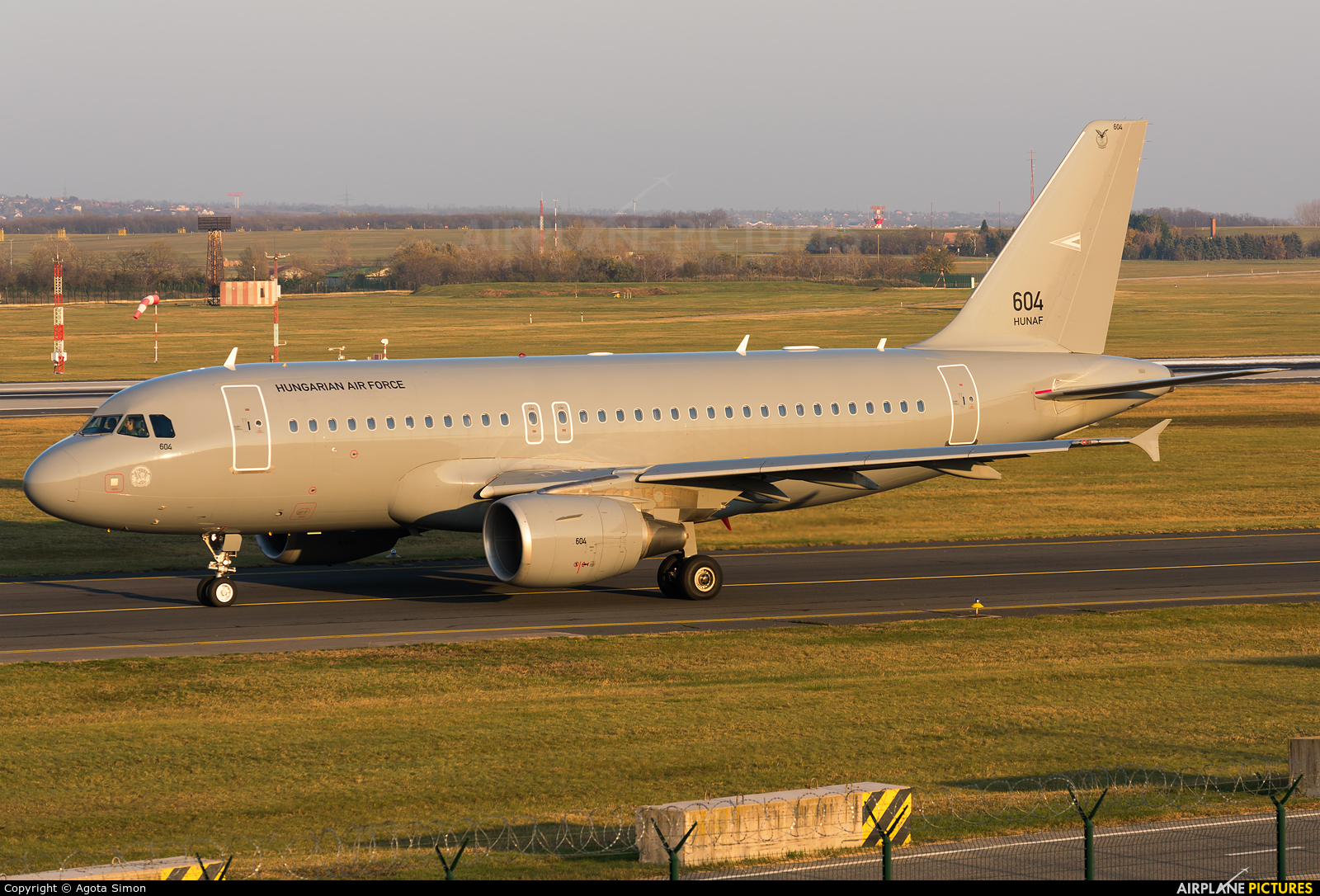 Hungary - Air Force 604 aircraft at Budapest Ferenc Liszt International Airport