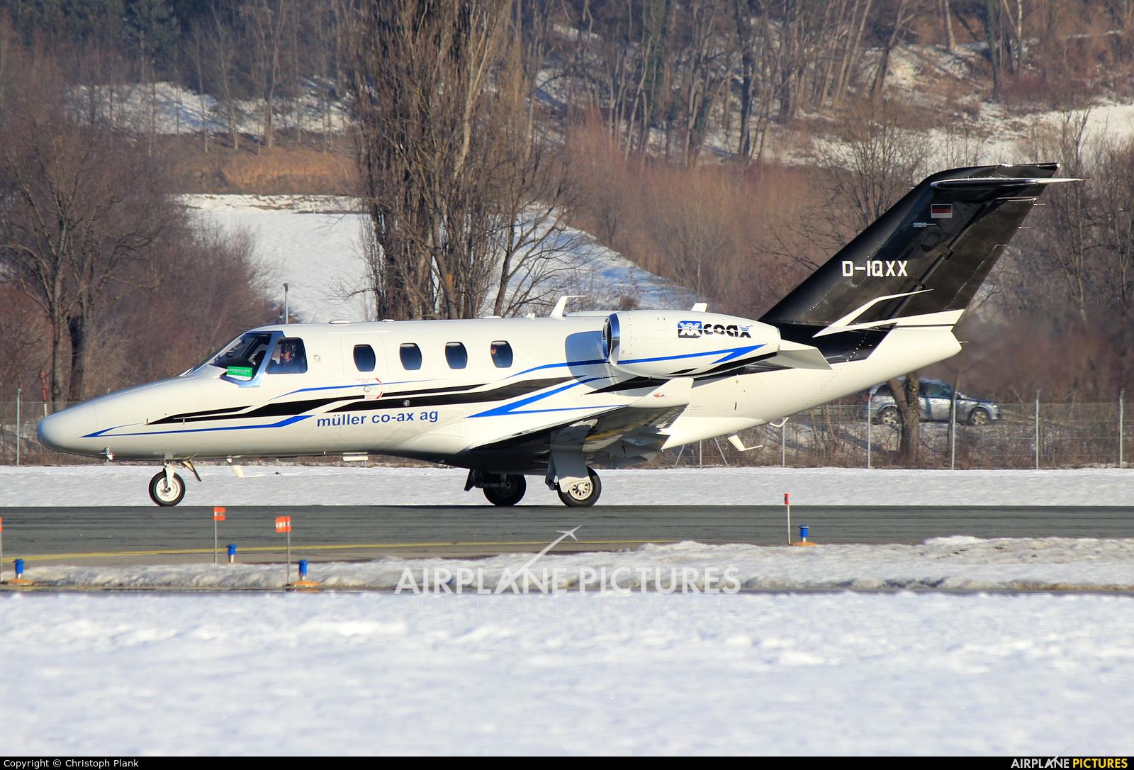 Müller Co-ax AG D-IQXX aircraft at Innsbruck