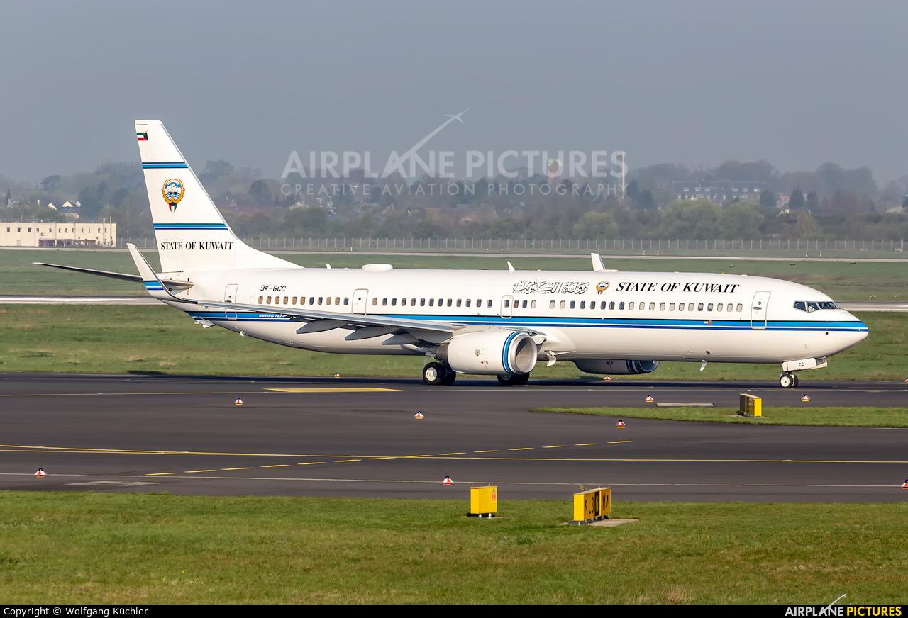Kuwait - Government 9K-GCC aircraft at Düsseldorf