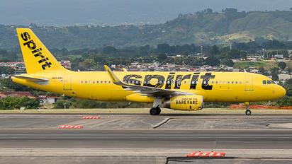 N654NK - Spirit Airlines Airbus A320