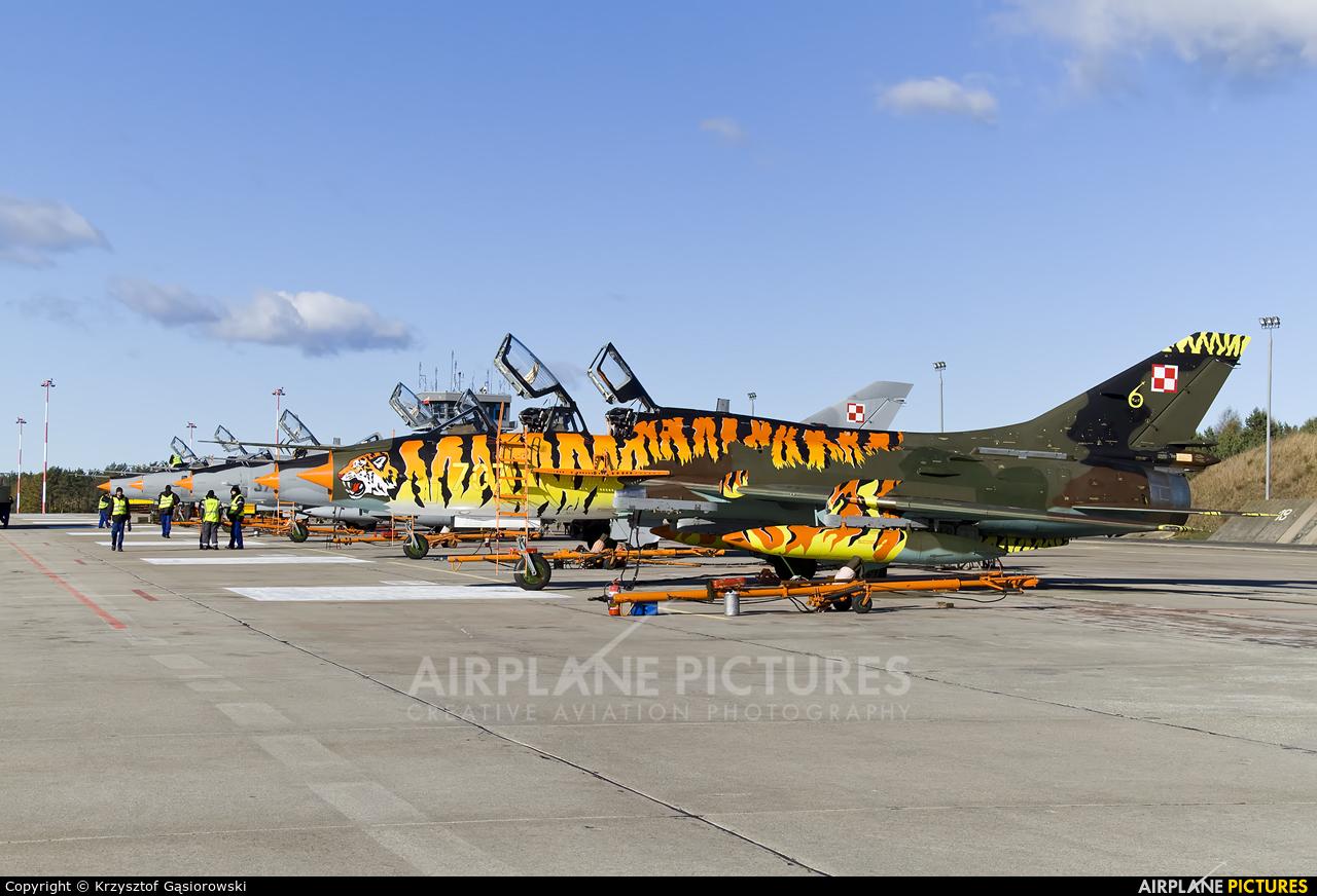 Poland - Air Force 707 aircraft at Świdwin