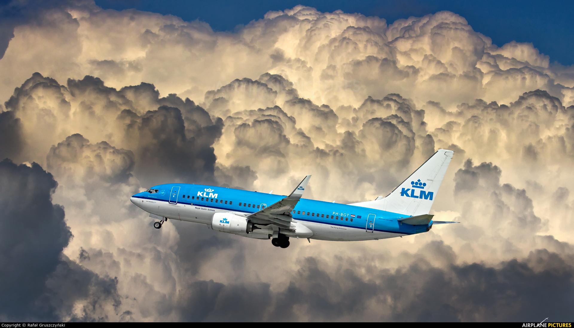 KLM PH-BGT aircraft at Warsaw - Frederic Chopin
