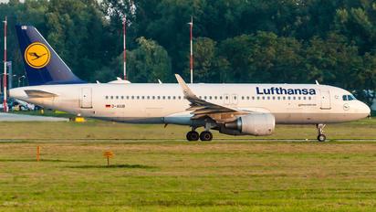 D-AIUB - Lufthansa Airbus A320