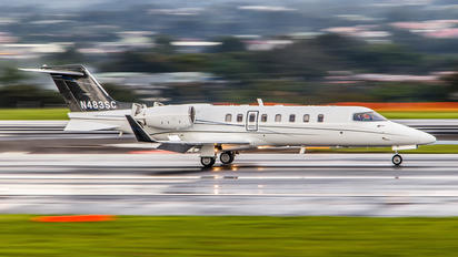 N483SC - Private Learjet 45
