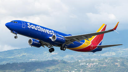 N8576Z - Southwest Airlines Boeing 737-800