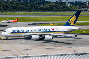 9V-SKH - Singapore Airlines Airbus A380