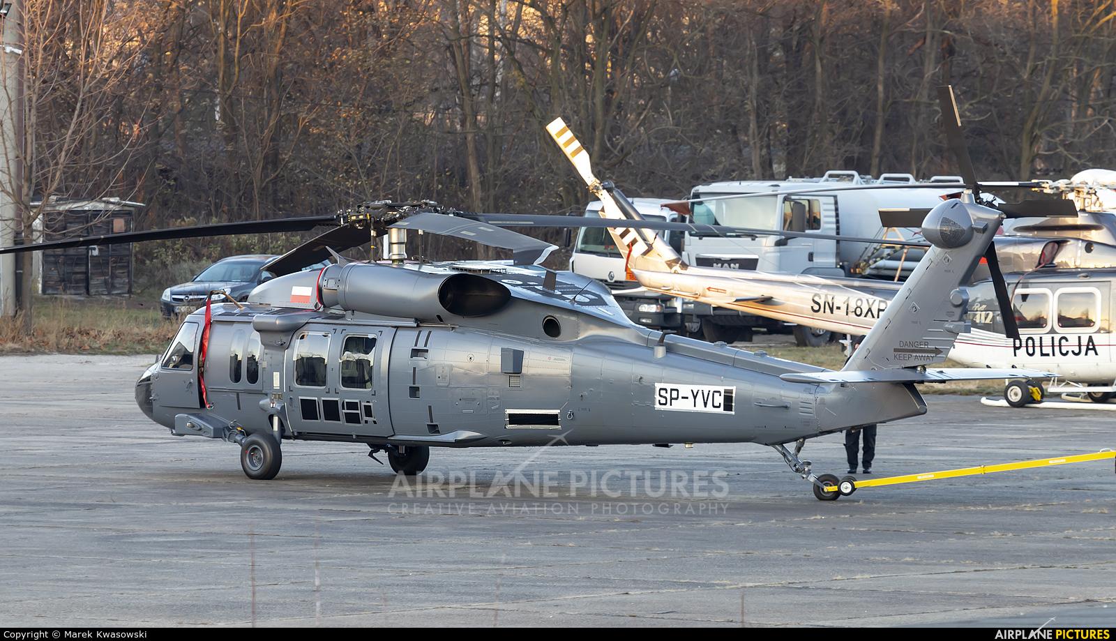 PZL Mielec SP-YVC aircraft at Warsaw - Babice