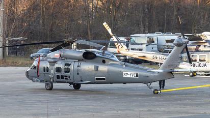 SP-YVC - PZL Mielec Sikorsky S-70I Blackhawk